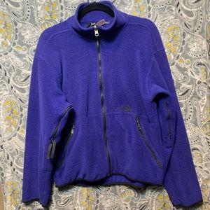 THE NORTH FACE Women's Small Purple Fleece Zip Up